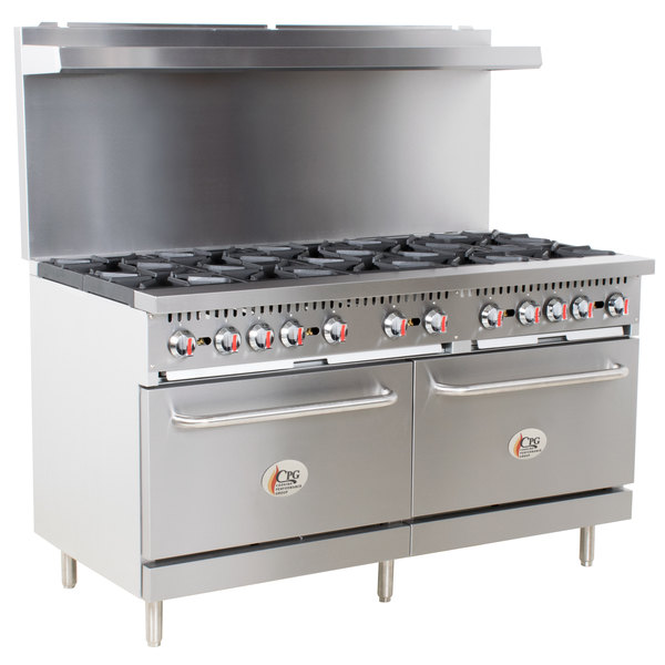 Cooking Performance Group S60-N Natural Gas 10 Burner 60\