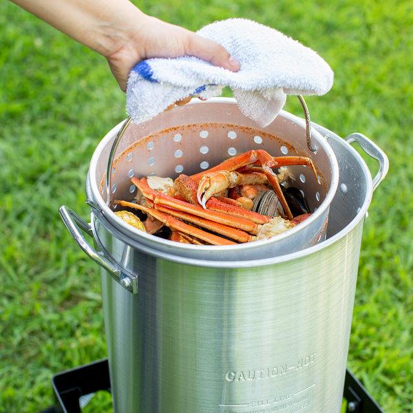 Image Preview - Turkey Fryer Kit Backyard Pro 30 Quart Deluxe Turkey Fryer Kit