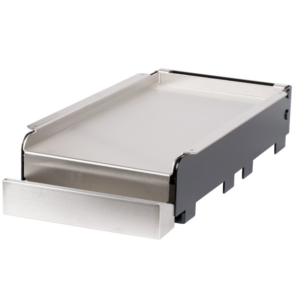 """FMP 133-1002 13 3/16"""" x 26 3/8"""" x 5 1/8"""" Add-On Griddle Main Image 1"""