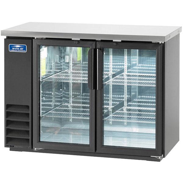 "Arctic Air ABB48G 49"" Glass Door Back Bar Refrigerator"