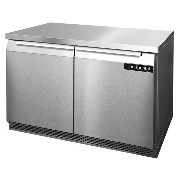 "Continental Refrigerator SW48-FB 48"" Front Breathing Undercounter Refrigerator - 13.4 Cu. Ft."