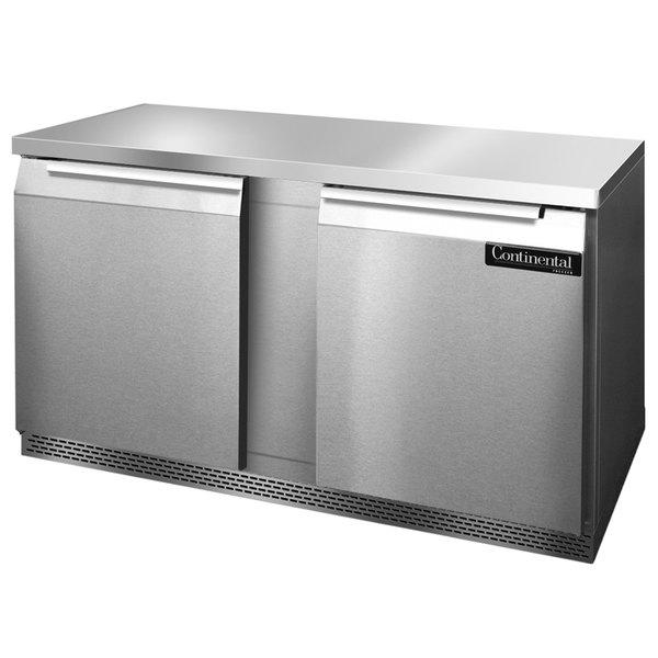 "Continental Refrigerator SW60-FB 60"" Front Breathing Undercounter Refrigerator"