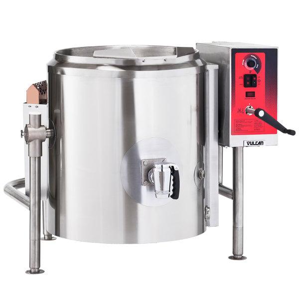 Vulcan K60GLT-LP Liquid Propane 60 Gallon Tilting 2/3 Steam Jacketed Kettle - 100,000 BTU Main Image 1