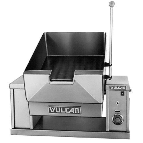 Vulcan VECTS12-208/3 12 Gallon Manual Tilt Braising Pan / Tilt Skillet - 208V, 3 Phase, 9 kW