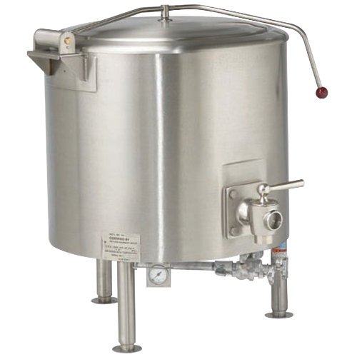 Vulcan ST150 Direct Steam 150 Gallon Fully Jacketed Kettle Main Image 1