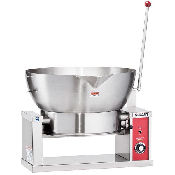 Vulcan VECTS16-240/3 16 Gallon Manual Tilt Braising Pan / Tilt Skillet - 240V, 3 Phase, 7.5 kW