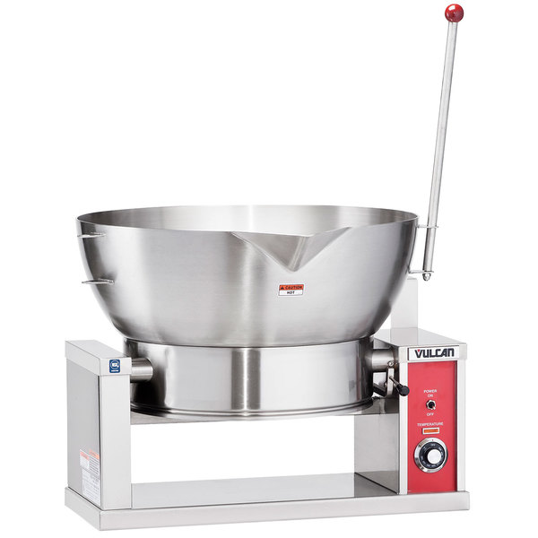 Vulcan VECTS16-208/1 16 Gallon Manual Tilt Braising Pan / Tilt Skillet - 208V, 1 Phase, 7.5 kW