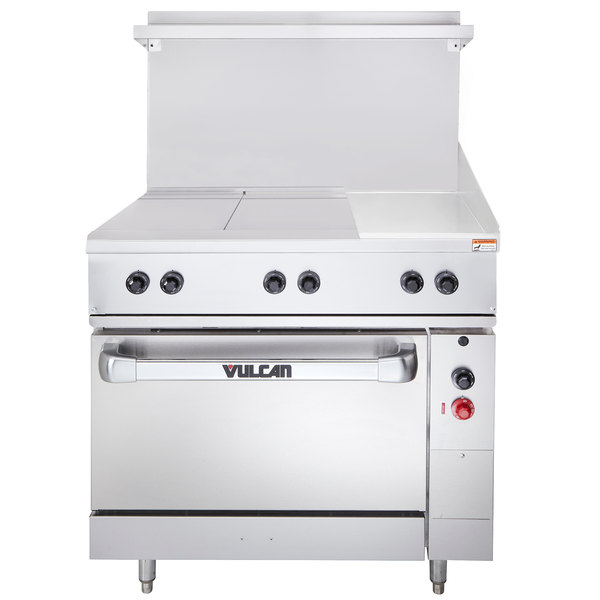 36 Electric Range >> Vulcan Ev36s 2ht12g480 Endurance Series 36 Electric Range With