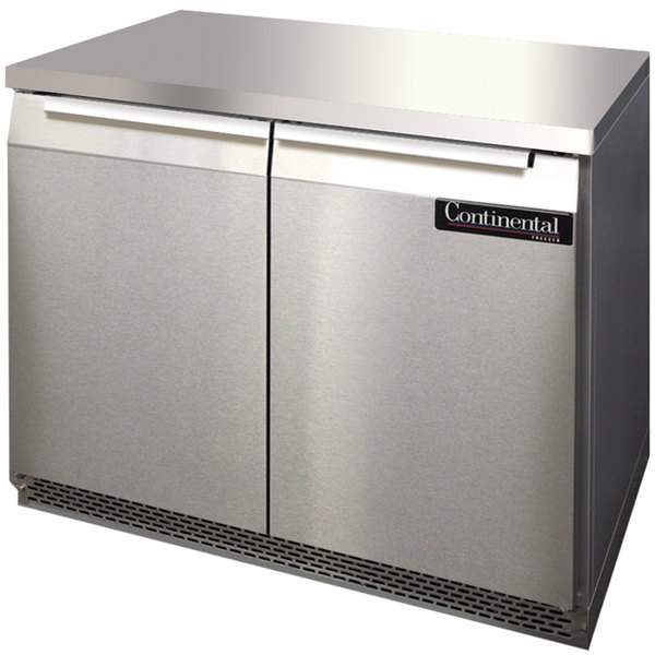 "Continental Refrigerator SWF36-FB 36"" Front Breathing Undercounter Freezer"
