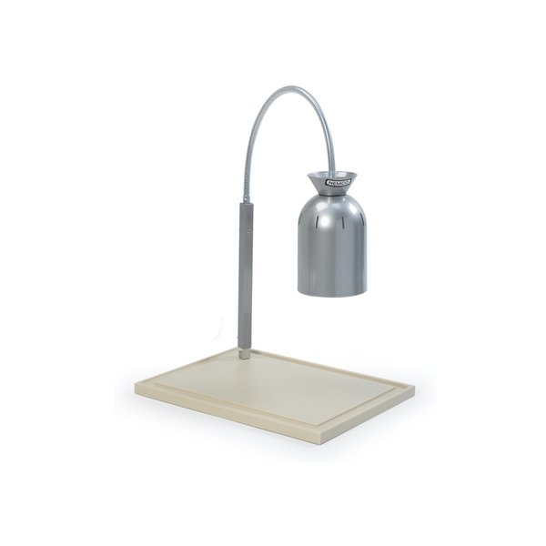 Nemco 6015-DP Single Bulb Carving Station with Polyethylene Base - Center Lamp, 120V
