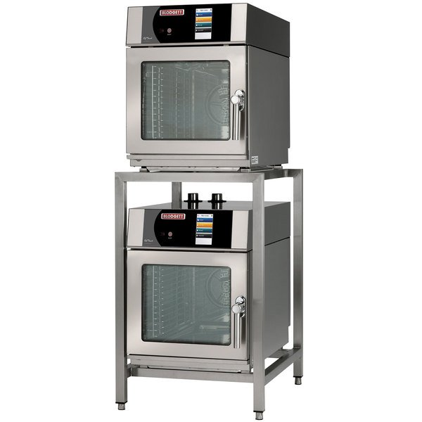 Blodgett BLCT-6-6-E-208/3 Double Mini Boilerless Electric Combi Oven with Touchscreen Controls - 208V, 3 Phase, 6.9 kW