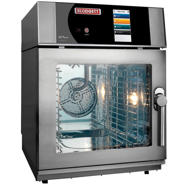 Blodgett BLCT-6E-208/3 Mini Boilerless Electric Combi Oven with Touchscreen Controls - 208V, 3 Phase, 6.9 kW