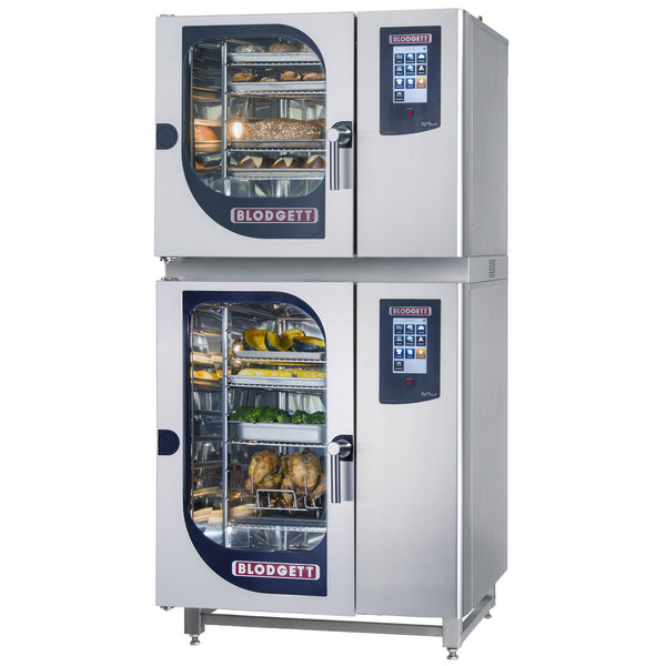 Blodgett BCT-61-101E Double Electric Combi Oven with Touchscreen Controls - 208V, 3 Phase, 9 kW / 18 kW Main Image 1