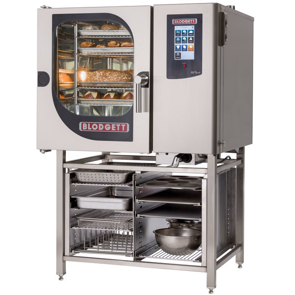 Blodgett BCT-61E-PT Pass-Through Electric Combi Oven with Touchscreen Controls - 240V, 3 Phase, 9 kW Main Image 1