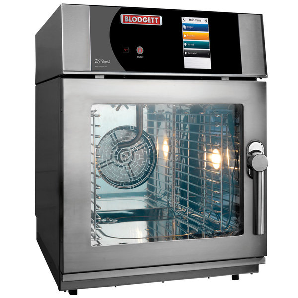 Blodgett BLCT-23E-208/3 Mini Boilerless Electric Combi Oven with Touchscreen Controls - 208V, 3 Phase, 5.4 kW