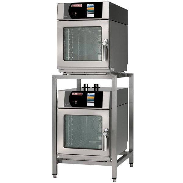 Blodgett BLCT-23-23-E-240/3 Double Mini Boilerless Electric Combi Oven with Touchscreen Controls - 240V, 3 Phase, 7.2 kW Main Image 1