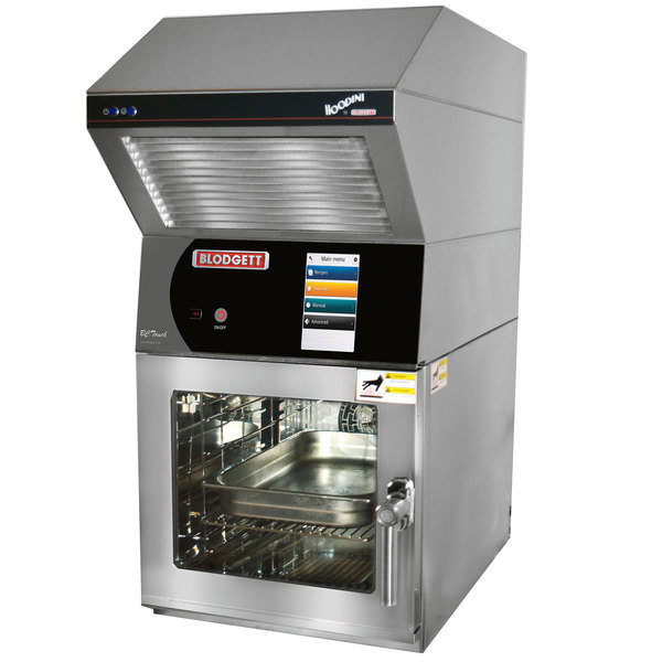 Blodgett BLCT-6E-H-240/3 Mini Hoodini Ventless Electric Combi Oven with Touchscreen Controls - 240V, 3 Phase, 9.2 kW