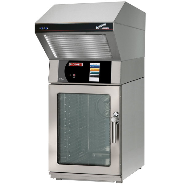 Blodgett BLCT-10E-H-208/3 Mini Hoodini Ventless Electric Combi Oven with Touchscreen Controls - 208V, 3 Phase, 10.4 kW