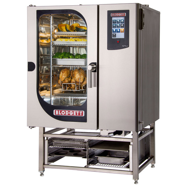 Blodgett BLCT-101E Boilerless Electric Combi Oven with Touchscreen Controls - 240V, 3 Phase, 18 kW