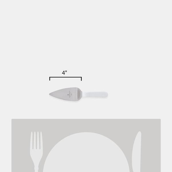 2x Grunwerg Windsor Stainless Steel Cake Slicer /& Pie Server with Serrated Edge