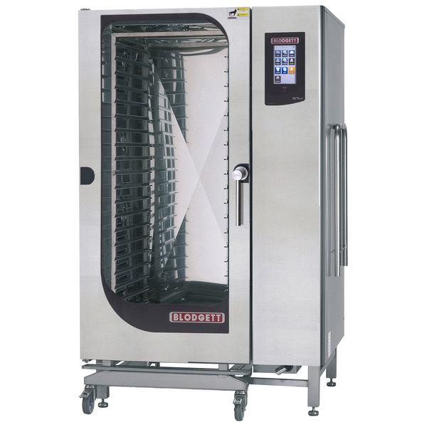 Blodgett BLCT-202G Liquid Propane Roll-In Boilerless Combi Oven with Touchscreen Controls - 190,000 BTU Main Image 1