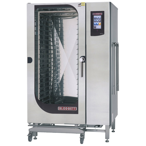 Blodgett BLCT-202E Roll-In Boilerless Electric Combi Oven with Touchscreen Controls - 240V, 3 Phase, 60 kW