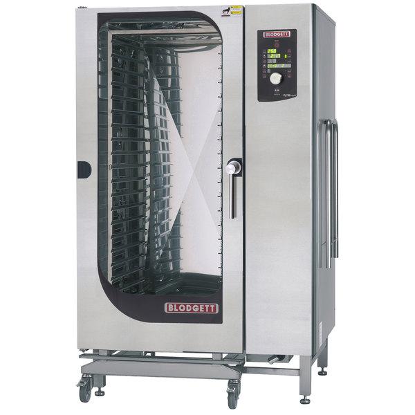 Blodgett BLCM-202G Liquid Propane Roll-In Boilerless Combi Oven with Dial Controls - 190,000 BTU