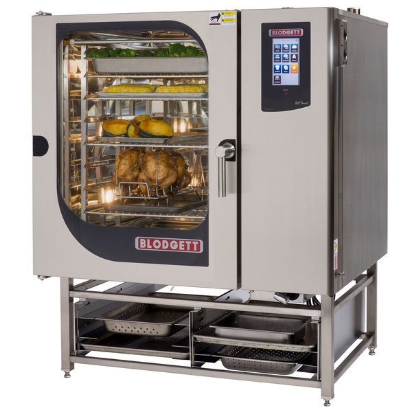 Blodgett BLCT-102G Liquid Propane Boilerless Combi Oven with Touchscreen Controls - 95,500 BTU