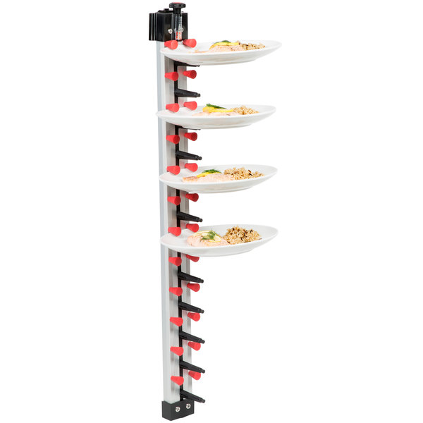 Plate Mate WM12-350 Wall Mount Plate Rack - Holds 12 Plates