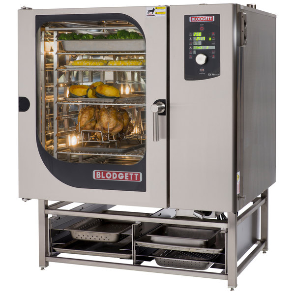 Blodgett BLCM-102E Boilerless Electric Combi Oven with Dial Controls - 240V, 3 Phase, 27 kW