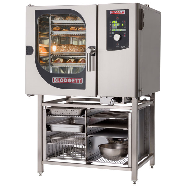 Blodgett BCM-61E-PT Pass-Through Electric Combi Oven with Dial Controls - 240V, 3 Phase, 9 kW Main Image 1