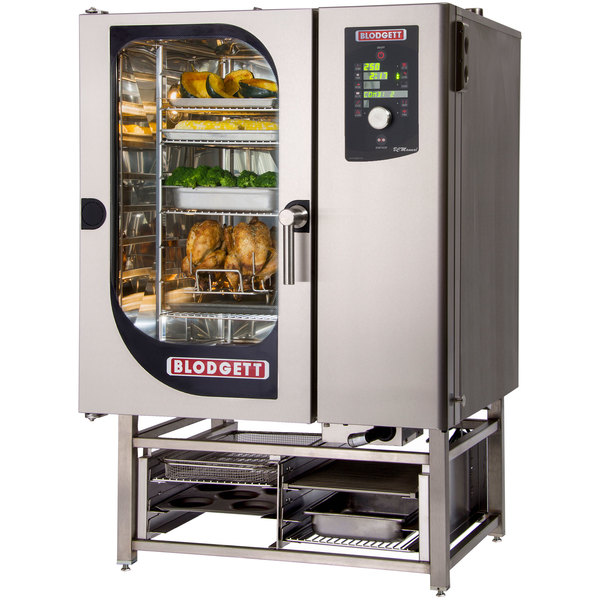 Blodgett BCM-101E-PT Pass-Through Electric Combi Oven with Dial Controls - 480V, 3 Phase, 18 kW Main Image 1