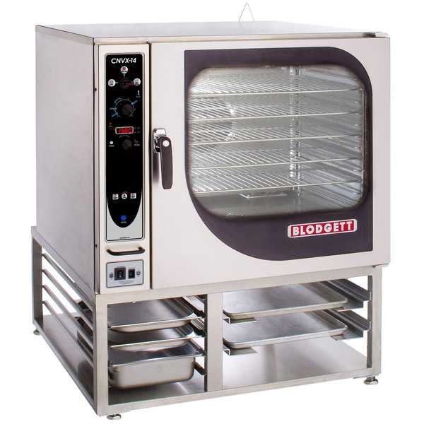 Blodgett CNVX-14E-240/3 Single Full Size Electric Convection Oven with Manual Controls - 240V, 3 Phase, 19 kW