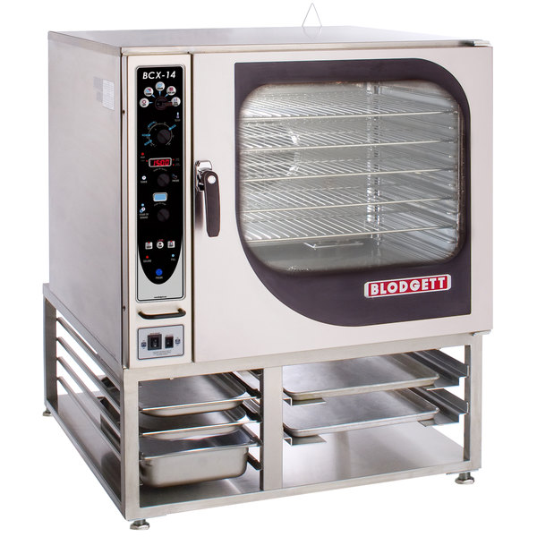 Blodgett BCX-14G-NAT Natural Gas Single Full Size Combi Oven with Manual Controls - 115,000 BTU Main Image 1
