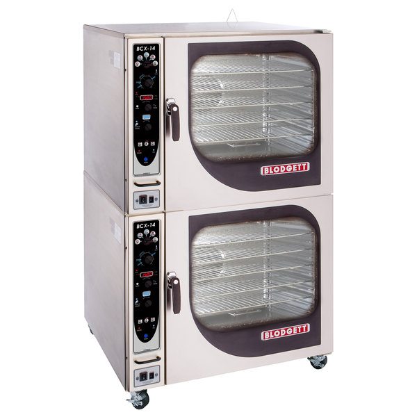 Blodgett BCX-14G-NAT Natural Gas Double Full Size Combi Oven with Manual Controls - 230,000 BTU Main Image 1
