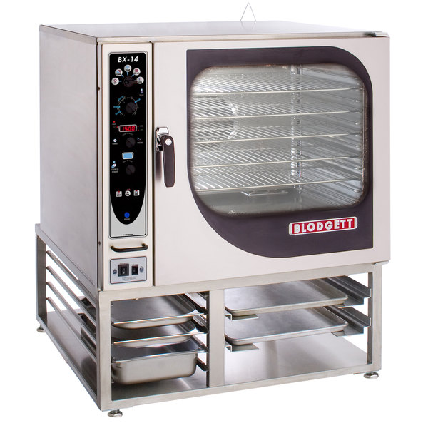 Blodgett BX-14E-480/3 Single Full Size Boilerless Electric Combi Oven with Manual Controls - 480V, 3 Phase, 19 kW Main Image 1