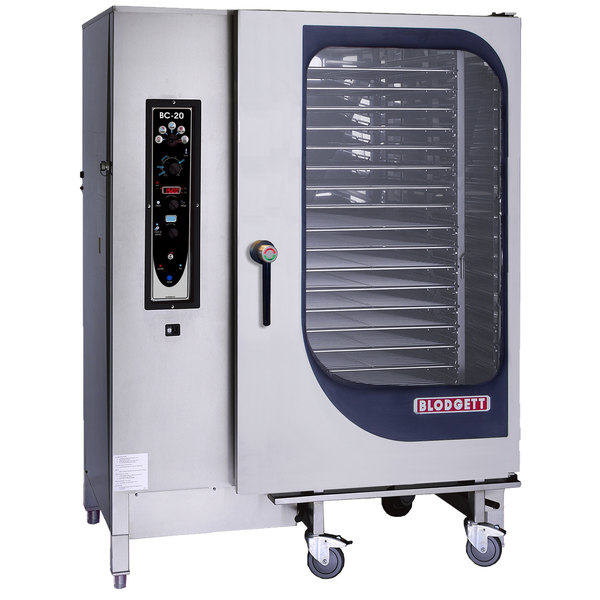 Blodgett BC-20E-480/3 Full Size Roll-In Electric Combi Oven with Manual Controls - 480V, 3 Phase, 61 kW