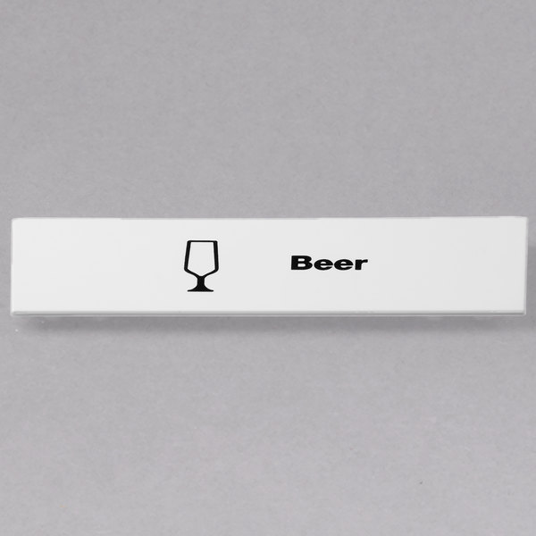 Cambro CECBE6000 Camrack Beer Extender ID Clip - 6/Pack Main Image 1