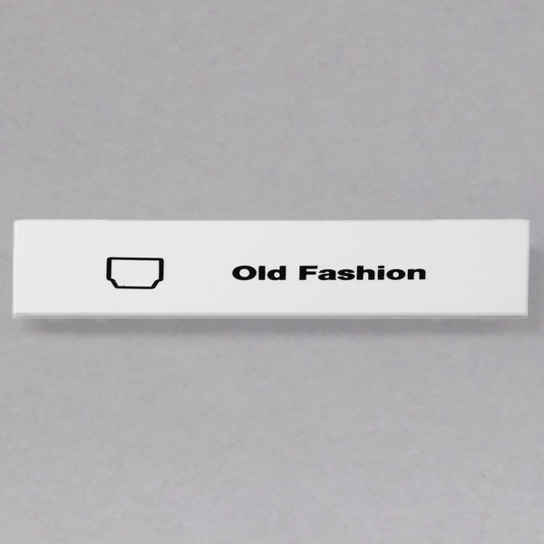 Cambro CECOF6000 Camrack Old Fashion Extender ID Clip - 6/Pack