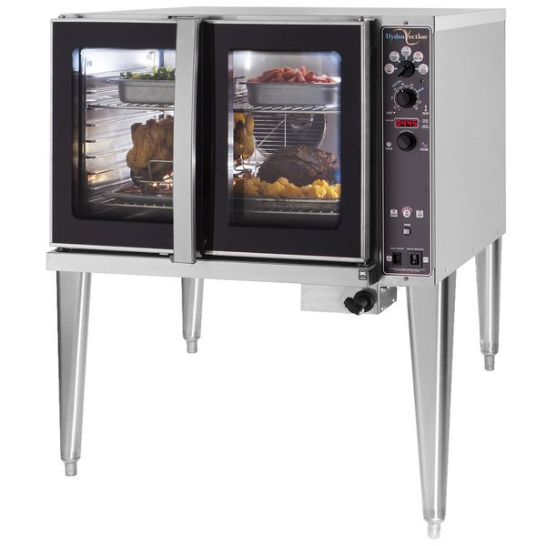 Blodgett HV-100E-208/3 Single Deck Full Size Electric Hydrovection Oven - 208V, 3 Phase, 15 kW
