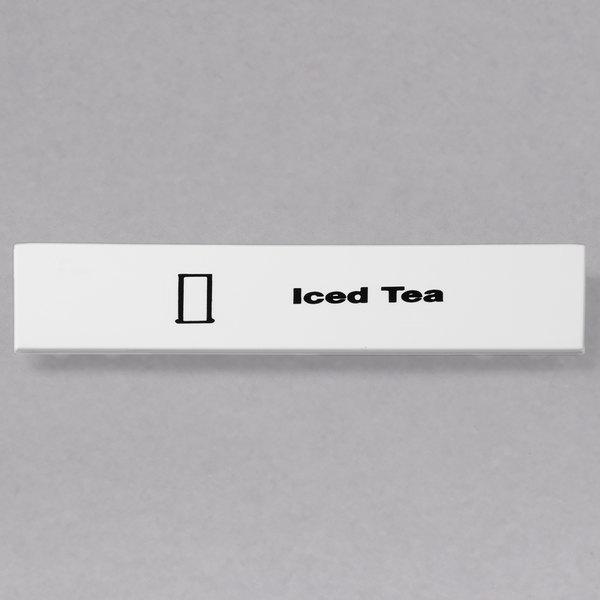 Cambro CECIT6000 Camrack Iced Tea Extender ID Clip - 6/Pack