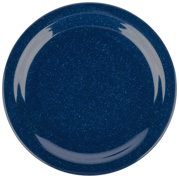 Add flair to your casual dining area with the Carlisle 4350135 Dallas Ware 9\  cafe blue melamine dinner plate!  sc 1 st  WebstaurantStore & Carlisle 4350135 Dallas Ware 9\
