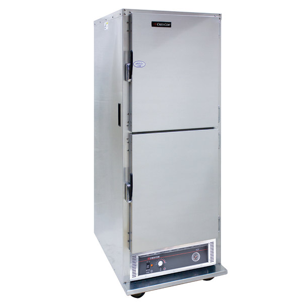Cres Cor H-135-SUA-11 Insulated Stainless Steel Hot Holding Cabinet with Solid Dutch Doors - 120V, 1500W