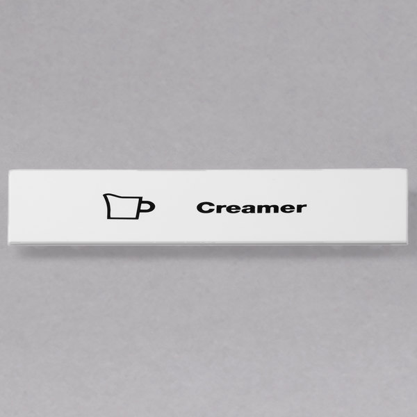 Cambro CECCR6000 Camrack Creamer Extender ID Clip - 6/Pack Main Image 1