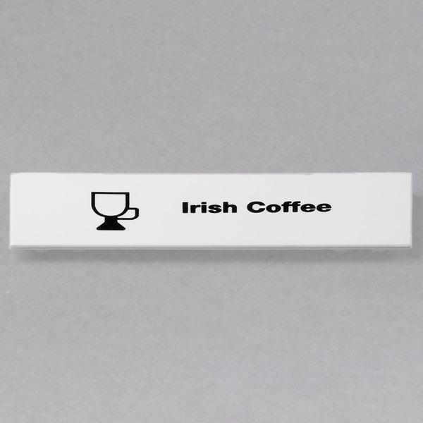 Cambro CECIC6000 Camrack Irish Coffee Extender ID Clip - 6/Pack Main Image 1