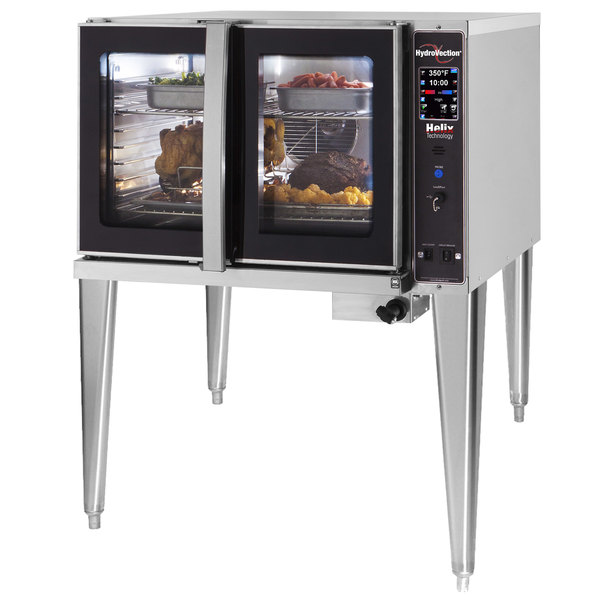 Blodgett HVH-100E-208/3 Single Deck Full Size Electric Hydrovection Oven with Helix Technology - 208V, 3 Phase, 15 kW