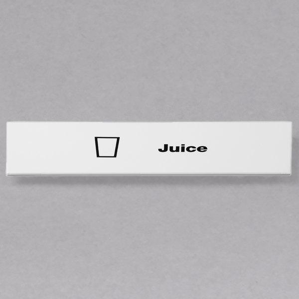 Cambro CECJU6000 Camrack Juice Extender ID Clip - 6/Pack