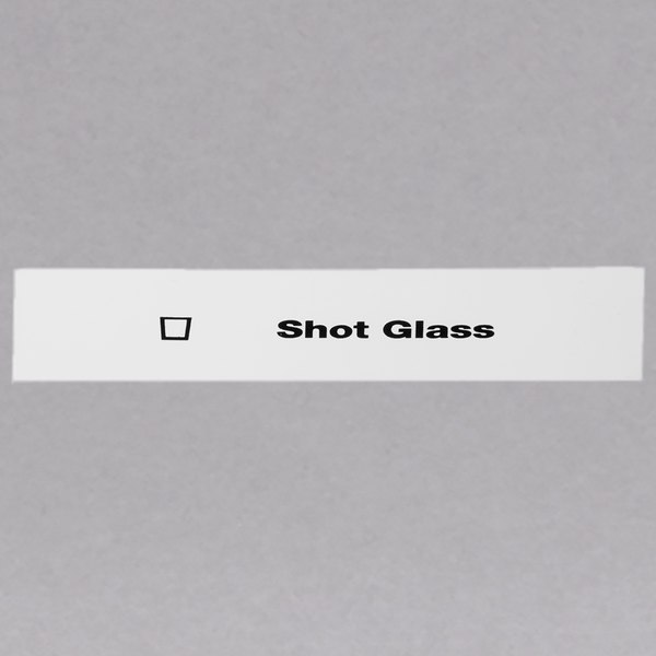 Cambro CECSG6000 Camrack Shot Glass Extender ID Clip - 6/Pack Main Image 1
