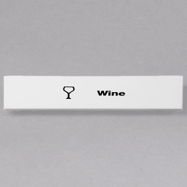 Cambro CECWI6000 Camrack Wine Extender ID Clip - 6/Pack Main Image 1