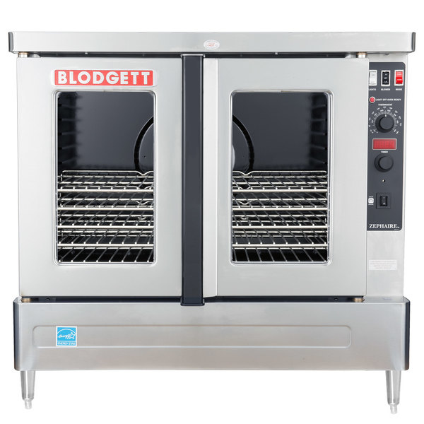 Blodgett ZEPHAIRE-100-E-208/1 Additional Model Full Size Standard Depth Electric Convection Oven - 208V, 1 Phase, 11 kW Main Image 1